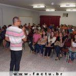 FACTU recepciona os calouros do 1° semestre 2013