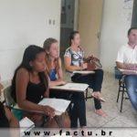 Reunião do grupo de Pesquisa e Extensão da FACTU