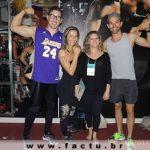 Acadêmicos e professores do curso de Educação Física no Brasília Capital Fitness 2014