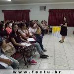 """Núcleos da FACTU ofereceram Minicurso """"Do Currículo a Entrevista"""""""
