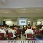Acadêmicos e professores do curso de Educação Física estiveram presentes no Goiânia Capital Fit