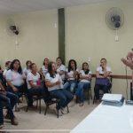Diretor da Escola Estadual Delvito Alves da Silva ministra para estudantes do curso de Pedagogia