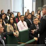 Acadêmicos e professores realizaram visita técnica à Câmara Legislativa do Distrito Federal