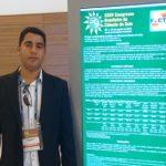 Acadêmico do curso de Agronomia participou do XXV Congresso Brasileiro de Ciência do Solo