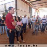 Acadêmicos do curso de Agronomia realizaram visita técnica ao INPEV