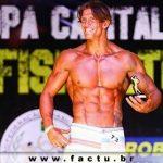 Acadêmico da FACTU se consagra campeão da IV Copa Capital Fitness de Fisiculturismo