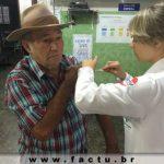 Campanha de vacinação contra Influenza teve a participação de Acadêmicos da FACTU