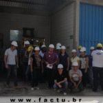 Acadêmicos realizam visita técnica a Fábrica de Rações da CAPUL