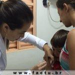 Acadêmicas participam da Campanha de Vacinação contra Influenza