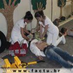 I simulado de Atendimento Pré-Hospitalar do curso de Enfermagem da FACTU