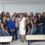 Estudantes e professoras participam de evento no Instituto Colibri