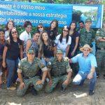 Acadêmicos e docentes participaram de evento sobre a preservação da água