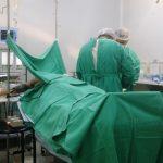 Aula prática de Enfermagem Médico-Cirúrgica