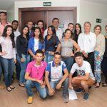 Acadêmicos do curso de Administração acompanharam a pré-assembléia Sicoob Crediparnor