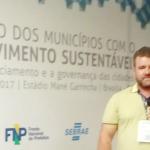 Diretor Acadêmico da FACTU participa do IV Encontro dos Municípios com o Desenvolvimento Sustentável