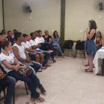 Cursos de Administração e de Pedagogia em parceria com a Escola Estadual Delvito Alves da Silva