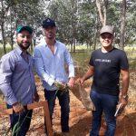 Aula prática de Amostragem de Plantas Daninhas