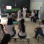 Acadêmicos realizam treinamento de atendimento pré-hospitalar sob supervisão