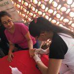 Curso de Enfermagem participa do dia do Servidor Público na Superintendência Regional de Ensino