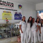 Acadêmicas do curso de Enfermagem realizam atividade educativa