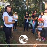 Estudantes e docentes do curso de Pedagogia visitam parque ambiental