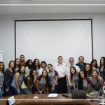 Estudantes, professora e Diretor Geral da FACTU visitam a COAGRIL