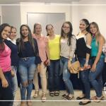Acadêmicos e professora participam da I Semana de Psicologia da APSIU
