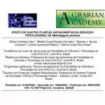 FACTU tem artigo publicado na Revista Agrarian Academy