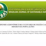 FACTU tem artigo publicado na Revista Brasileira de Agropecuária Sustentável (RBAS)